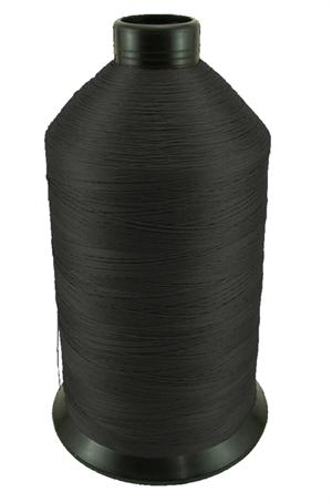 #69 BONDED NYLON THREAD BLACK - 6000 YARD SPOOL