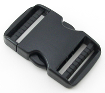B-SR-01 1500 Black Dual Adjusting Side Release Buckle