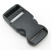 B-SR-02 1000 Black Side Release Buckle
