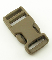 SINGLE-ADJUSTING MADE IN USA SIDE-RELEASE BUCKLES 1 INCH-WIDE MARPAT COYOTE
