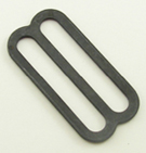 METAL SINGLE-BAR SLIDES 1-1/2 INCH-WIDE BLACK