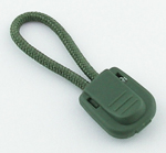Zipper Pull Olive By-the-bag