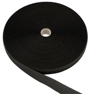 SEW-ON NYLON FASTENER TAPE BLACK HOOK 3 INCH-WIDE Wholesale
