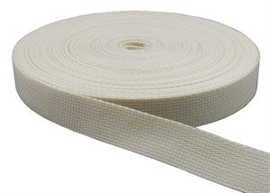 REGULAR-WEIGHT POLYPROPYLENE WEBBING 1 INCH-WIDE CREAM Wholesale