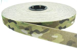 Sew-on Nylon Fastener Tape Multicam 1 Inch-wide Loop Wholesale