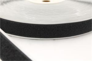 STICK-ON ACRYLIC-BASE PRESSURE SENSITIVE NYLON FASTENER TAPE BLACK LOOP 3/4 INCH-WIDE Wholesale