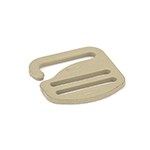 Metal G-hook 1 Inch-wide Tan 499 Single Pieces