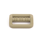 Plastic Single-bar Slides Made-in-usa 3/4 Inch-wide Tan 499 By-the-bag