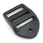 B-DB-02 1000 Black Plastic Double Bar Slide Heavy