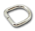 B-DR-02 0375 Silver Metal D-Ring
