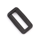 B-LP-02 1000 Black Plastic Rectangular Loop