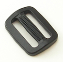 B-SB-1A 1000 Black Plastic Single Bar Slide