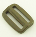 Plastic Single-bar Slides (1a) 1 Inch-wide Tan 499 Single Pieces