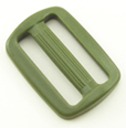 B-SB-1A 1000 Olive Drab Plastic Single Bar Slide