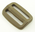 B-SB-1A 1000 Marpat Coyote Brown Plastic Single Bar Slide
