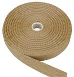 Beige Heavy-Weight Polypropylene Webbing