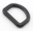 B-DR-01 1000 Black Plastic Made-In-USA D-Ring