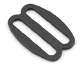 B-SB-03 1000 Black Metal Single Bar Slide Thin