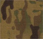 CORDURA COATED NYLON FABRIC 1000 DENIER 58-60 INCHES-WIDE MULTICAM - By-The-Yard