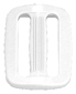 POLY-ACETAL SINGLE-BAR SLIDES 2 INCH-WIDE WHITE Retail