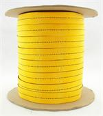 Mil-w-5625 Tubular Nylon Webbing 1 Inch-wide Yellow By-the-roll