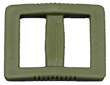Olive Drab Extra-Wide Single-Bar Slides