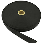 Commercial Nylon Grosgrain Binding 3/4 Inch-wide Black By-the-roll